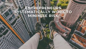 Entrepreneurs Minimise Risk